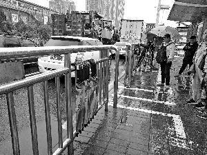 数据运营丨共享雨伞现北京街头:APP获取密码即可使用 一次5毛