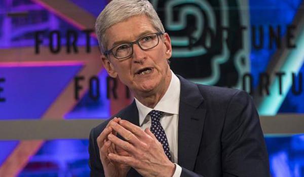 库克:苹果中国应用商店下架的一些App应该还会上线