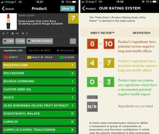 第三方App能显示化妆品是否有害?欧莱雅们不买账