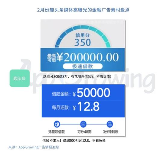 有米:2月份金融行业 App 移动广告投放分析