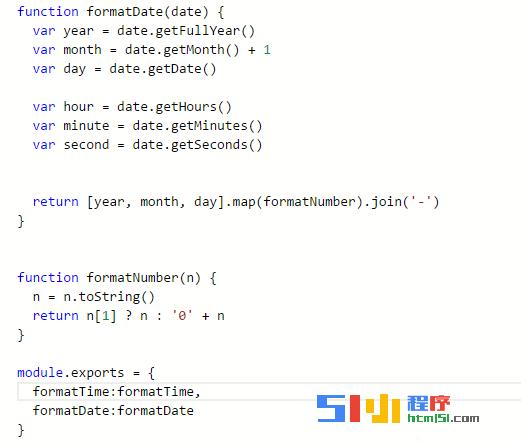小程序丨模块化util问题