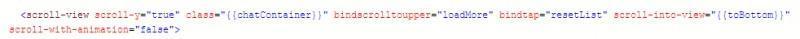 小程序丨【已解决】scroll滚动,聊天下拉加载分页
