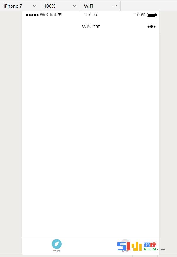 小程序丨【已解决】tabbar在iphone7上预览和工具预览背景颜色不一致