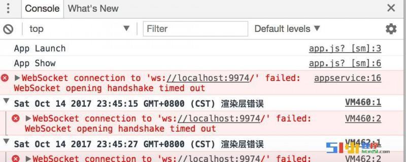 小程序丨【已解决】官方demo 提示websocket 错误