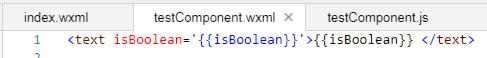 小程序丨【已解决】关于自定义组件type为Boolean的问题?