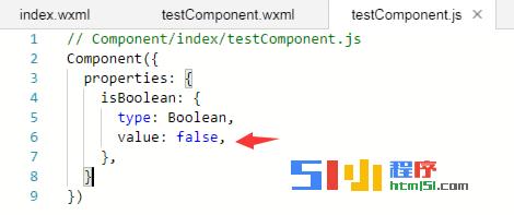 【已解决】关于自定义组件type为Boolean的问题?