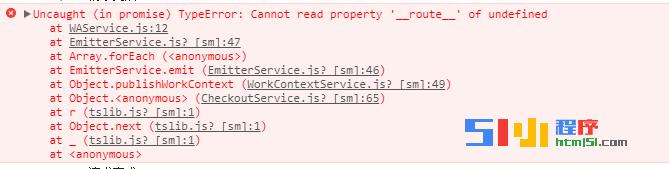 小程序丨【已解决】基础库版本1.6.4  '__route__' of undefined ...
