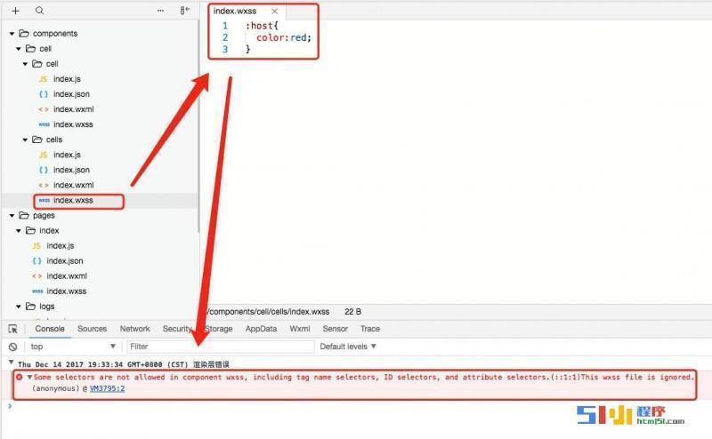 小程序丨【已解决】组件化component中,wxss样式 :host 设置问题