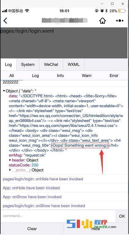 小程序丨【已解决】开发工具正常请求,手机请求失败