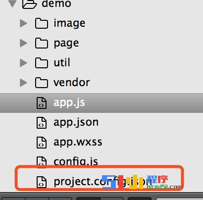 小程序丨【已解决】前台能调取project.config.json中的参数吗